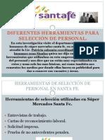 DIFERENTES HERRAMIENTAS PARA SELECCIÓN DE PERSONAL.pptx