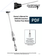 Onicon Flow Meter