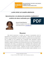 Mirar Cuadro Abstracto_Alcaide Ramirez