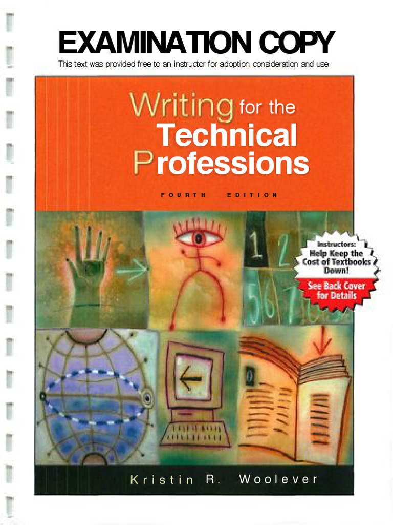 writing for the technical professions technical communication