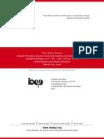 Avaliação Psicológica. Guia de consulta para estudantes e profissionais de psicologia