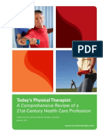 Todays Physical Therapy Profession