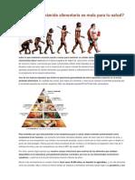 3.1 Por qué la pirámide alimentaria es mala para tu salud