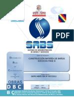 Documento de Contratacion de Obras