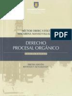 MANUAL DE DERECHO PROCESAL ORGÁNICO - HÉCTOR OBERG YÁÑEZ1