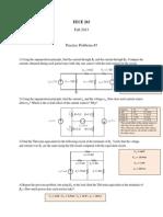 Problem Set 3 - Solutions