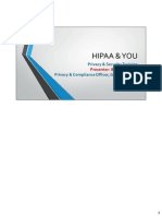 HIPAA & YOU Inservice Notes