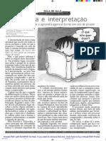 Leitura e Interpretacao