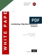 Architecting a Big Data Platform - IBM