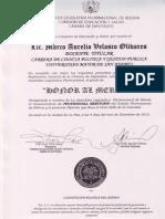 Distinción a los politólogos Marco Velasco, Jimena Costa, Carlos Cordero y Ramiro Bueno por la Asamblea Legislativa Plurinacional de Bolivia.