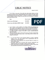 Vehicles Auction Uppal Dec 2013