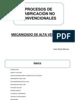 MAV y Micromecanizado. Jesús Durán Moreno