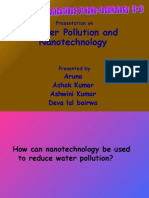 Water Pollution and Nanotechnology