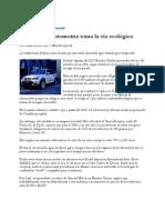 Industria Automotriz Ecologica
