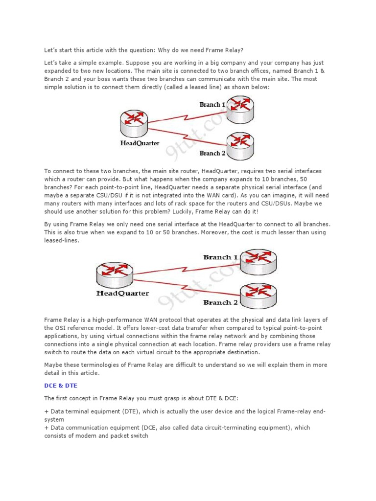 Resume for Frame Relay | Ip Address | Router (Computing)