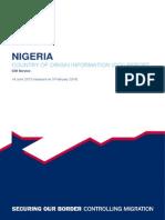 Nigeria COI Report Revision v2 14-1-31