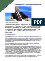 Discursul lui Vladimir Putin. Lumea unipolară a murit de Valentin Mandrasescu