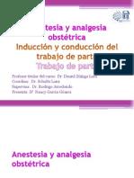 Anestesia y Analgesia Trabajo de Parto
