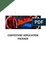 Mr. Fetish  Jackhammer Contestant Application