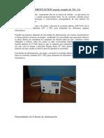 100700598 FUENTE de ALIMENTACION Regula de 30v Terminado Para Imprimir