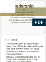 sourav ganguly  Born into a sport loving family  Earlier he was  attractedtowards football     SlideShare