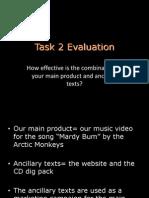 Task 2 Evaluation