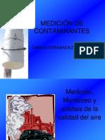 MEDICIÓN DE CONTAMINANTES aire