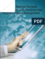 Creating a Business-Focused HR Function With Analytics and Integrated Talent Management