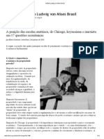Instituto Ludwig von Mises Brasil - A Posição das escolas Austríaca, de Chicago, keynesiana e Marxista em 17 questões econômicas