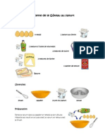 Recette de le Gâteau au yaourt