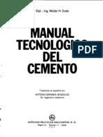 126328906 Manual Tecnologico Del Cemento