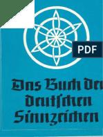 Blachetta, Walther - Das Buch der deutschen Sinnzeichen (1941, Text)