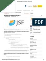 Implementando página de erro com JSF - Portal Arquiteto