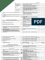 Checklist BRC5