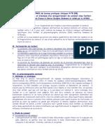 recommandation SFRMS procédure de réalisation et d'analyse d'un enregistrement de sommeil chez l'enfant
