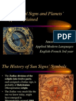 Astrological Signs and Planets Glyphs Explained
