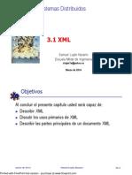 Cap 3.1 XML
