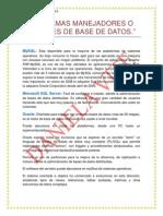 programas manejadores o gestores de base de datos 12