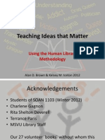 Teaching Ideas That Matter