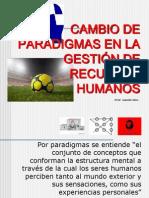 CAMBIO DE PARADIGMAS EN GESTIÓN