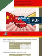 Historia de Venezuela Tema 1