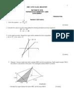 Pep. Semester 1 Matematik Ting5