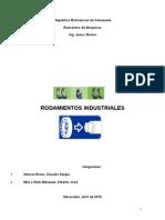 Elementos de Maquinas Rodamientos Industriales