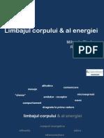 Limbajul Corpului Al Energiei Atelier Equilibrium y