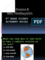 astronomy review powerpoint