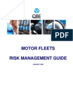 Risk Management for Motor Fleets