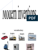 Unit 8modern Inventions