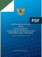 Nota Keuangan Ri 2014