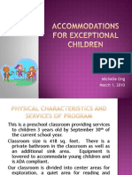 michelle ong - accommodations for exceptional children
