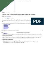 Manual Para Modo Cliente_Estacion en AirOS de Ubiquiti _ La Cueva Wifi